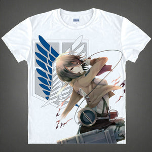 Attack On Titan Short Sleeve T-Shirt V3