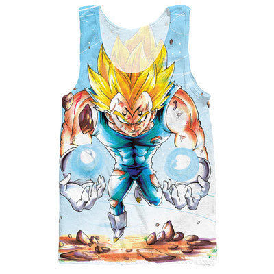 Dragon Ball Z Graphic Summer Anime Tank Top V8
