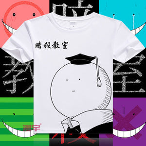 Assassination Classroom Short Sleeve Anime T-Shirt V8