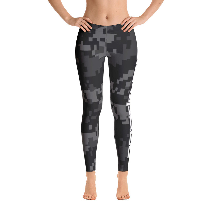 Women's Camo Leggings - Disruptive Supplements