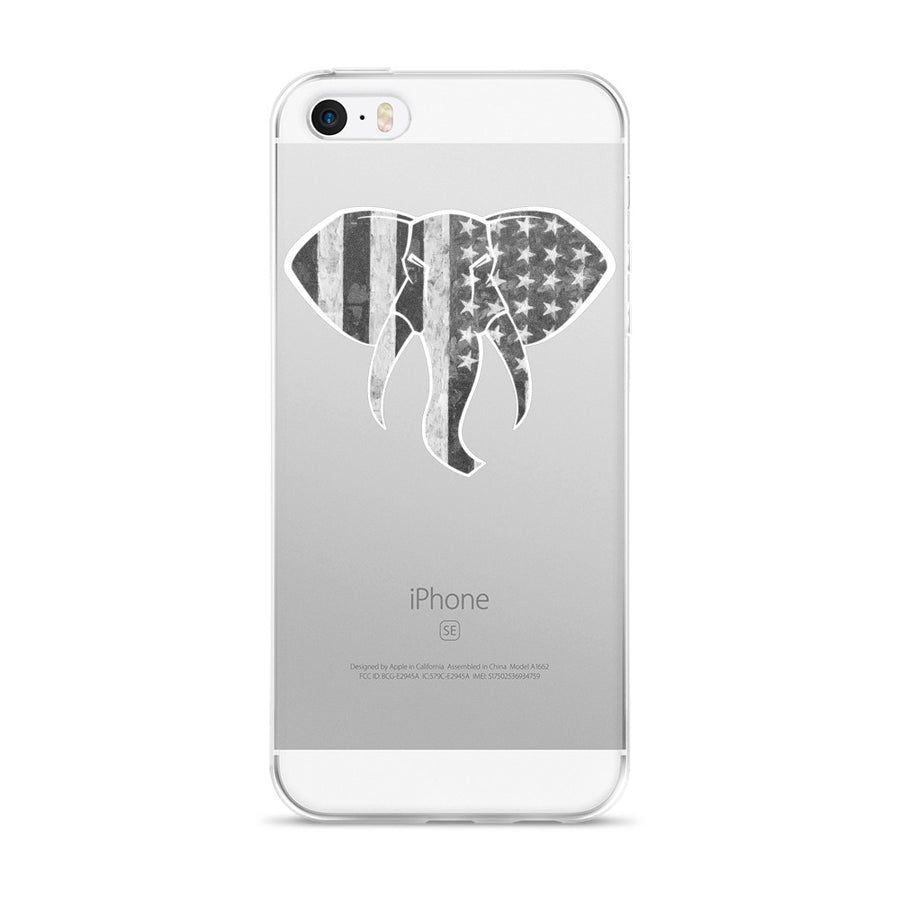 Disruptive Supplements - Elephant Logo US Flag - iPhone 5/5s/Se, 6/6s, 6/6s Plus Case - Disruptive Supplements