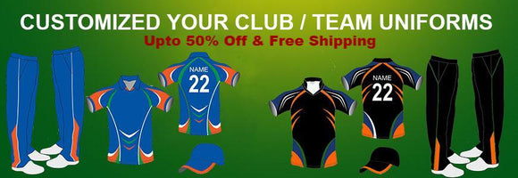 Cricket Color Clothing Custom Made Uniform
