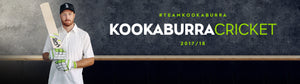 Kookaburra cricket equipment banner