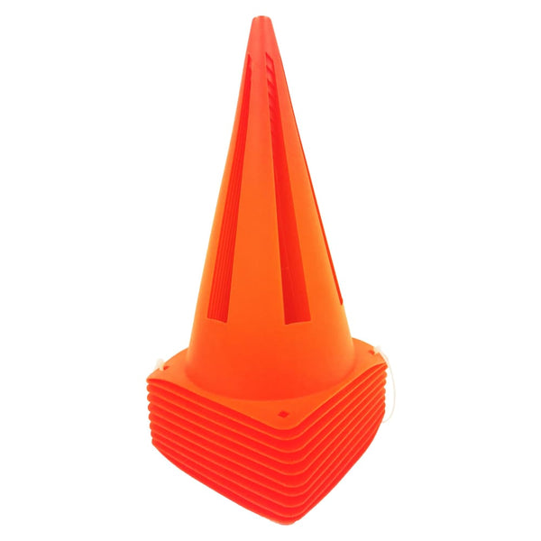 9 inch Cones Boundary Fielding Practice Training Safety Cones - Single Cone - MISCELLANEOUS ITEMS