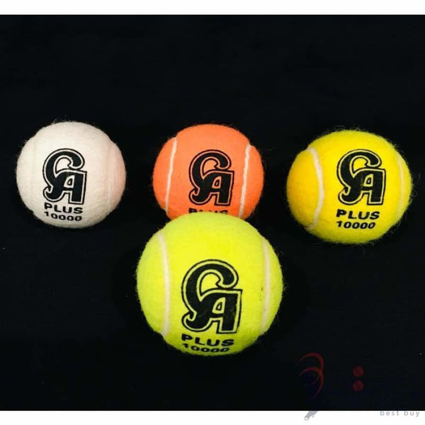 CA Cricket Tennis Ball Tape Bat Softball Pack of 4 Various Colors - BALL - SOFTBALL