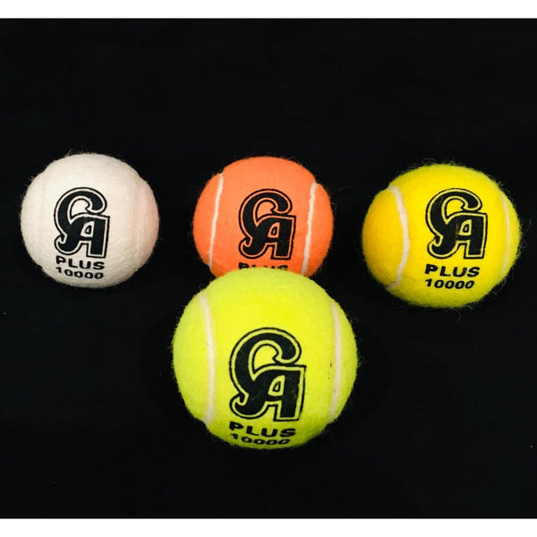 CA Cricket Tennis Tape Ball Plus 10000 Pack of 3 Various Colors - BALL - SOFTBALL
