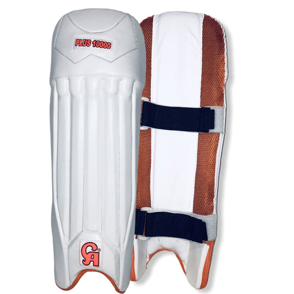 CA Plus 10000 Wicket Keeping Pads - Mens - PADS - WICKET KEEPING
