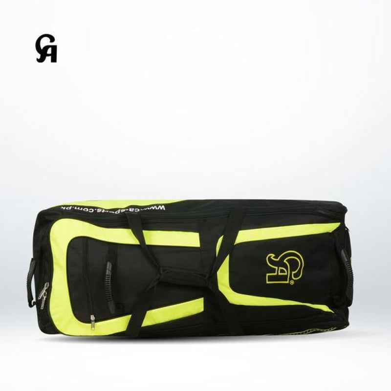 CA Plus 15000 Kit Bag Wheelie Black and Yellow - BAG - PERSONAL