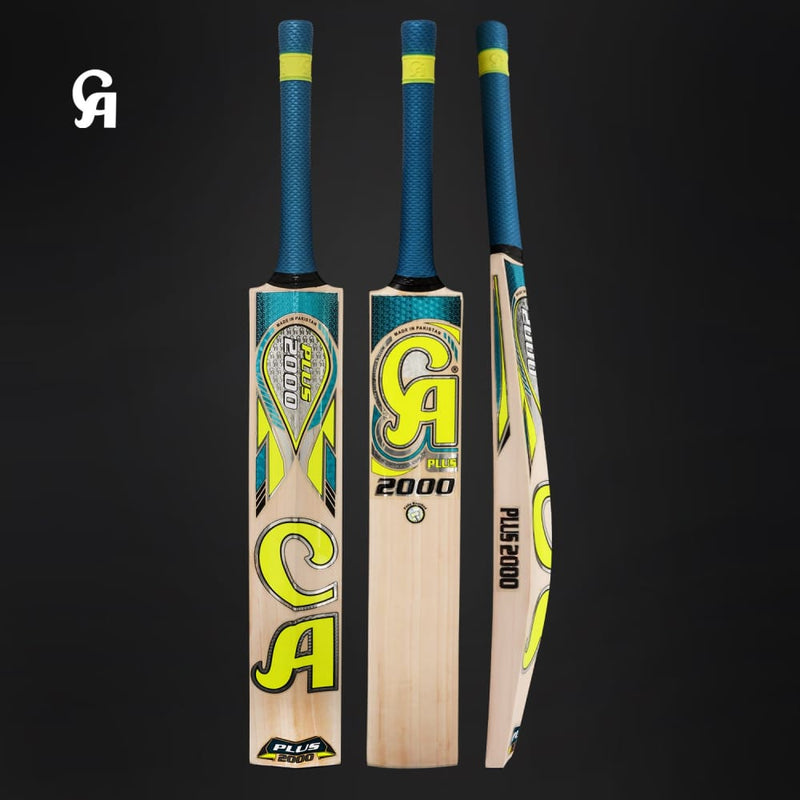 CA Plus 2000 Cricket Bat Enlarged Sweet Spot English Willow - BATS - MENS ENGLISH WILLOW