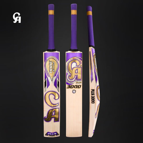 CA Plus 3000 Cricket Bat Hardball English Willow - BATS - MENS ENGLISH WILLOW