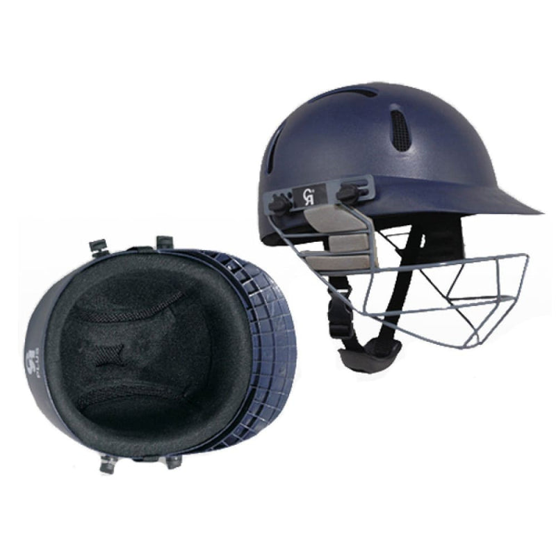 CA Plus Cricket Helmet Navy - HELMETS & HEADGEAR