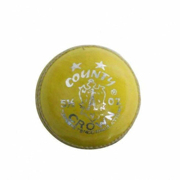 County Crown 4P Yellow Ball - BALL - 4 PCS LEATHER