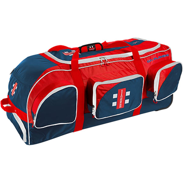 Cricket Kit Bag Gray Nicolls Players Navy/Red | 38 x 16 x 16 - BAG - PERSONAL