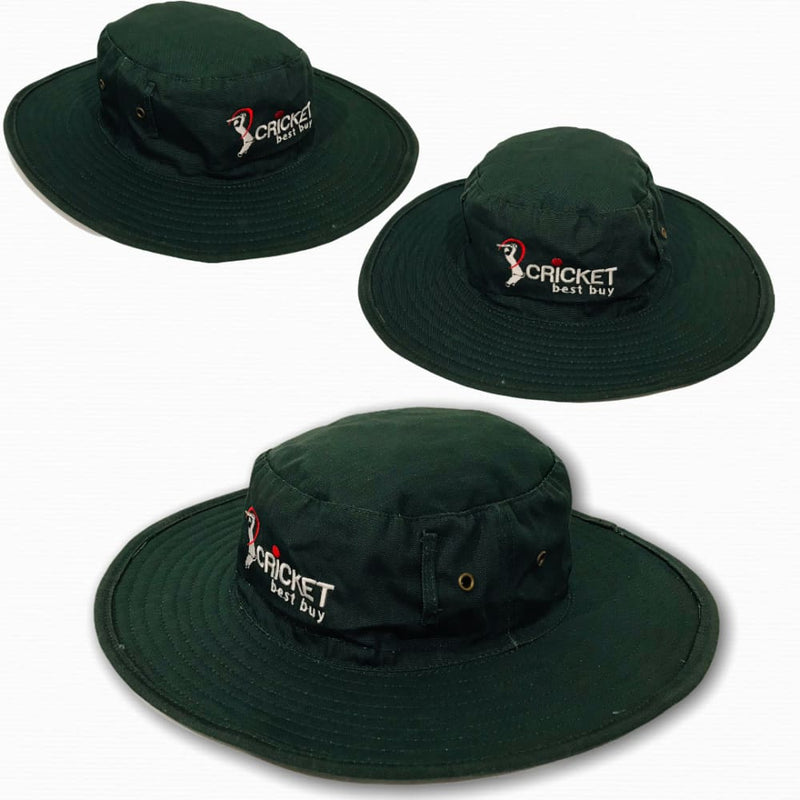 Cricket Sun hat Classic Traditional Style Sun Protection Green - CLOTHING - HEADWEAR
