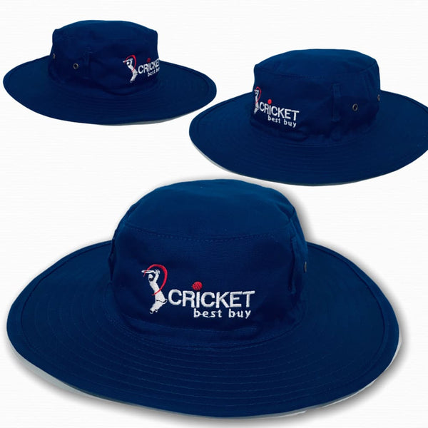 Cricket Sun hat Classic Traditional Style Sun Protection Blue - CLOTHING - HEADWEAR
