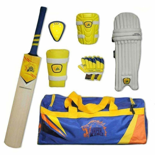 Csk Budding Junior Kit Cricket Set - BATS - CRICKET SETS
