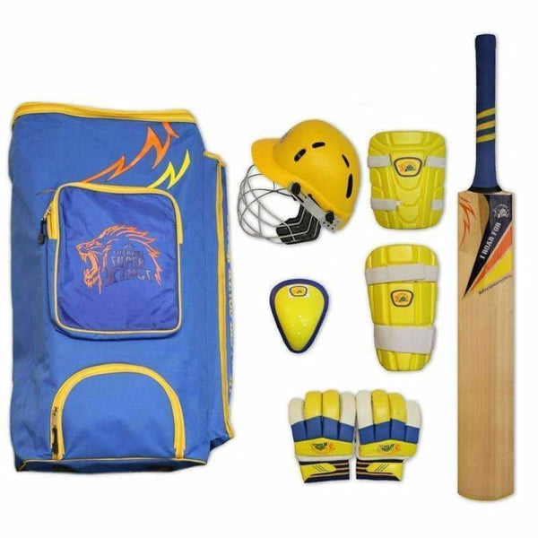 Csk Elite Junior Kit Cricket Set - BATS - CRICKET SETS