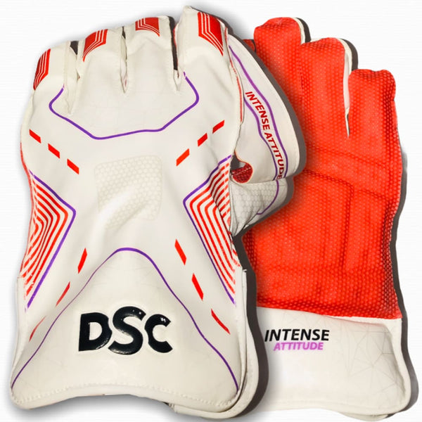 DSC Intense Attitude Wicket Keeping Gloves - Men - GLOVE - WICKET KEEPING