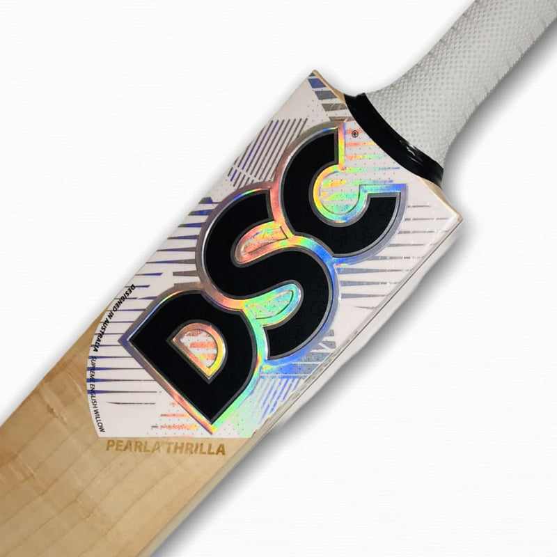 DSC Pearla Thrilla Cricket Bat English Willow - Short Handle - BATS - MENS ENGLISH WILLOW