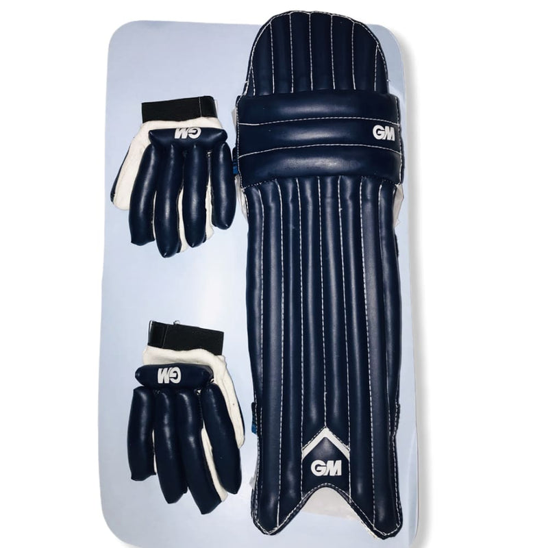 GM 101 Pad And Glove Cricket Set for 4-6 Years Old - BATS - CRICKET SETS
