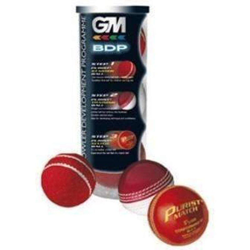 Gm 3-Pack Bdp Cricket Ball - BALL - TRAINING JUNIOR