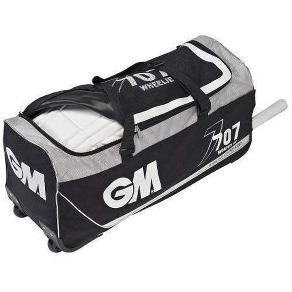 Gm 707 Wheelie Black Cricket Bag - BAG - PERSONAL