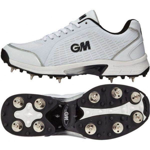 GM Icon Multi Function Cricket Shoes Metal & Rubber Spikes - FOOTWEAR - FULL SPIKE SOLE