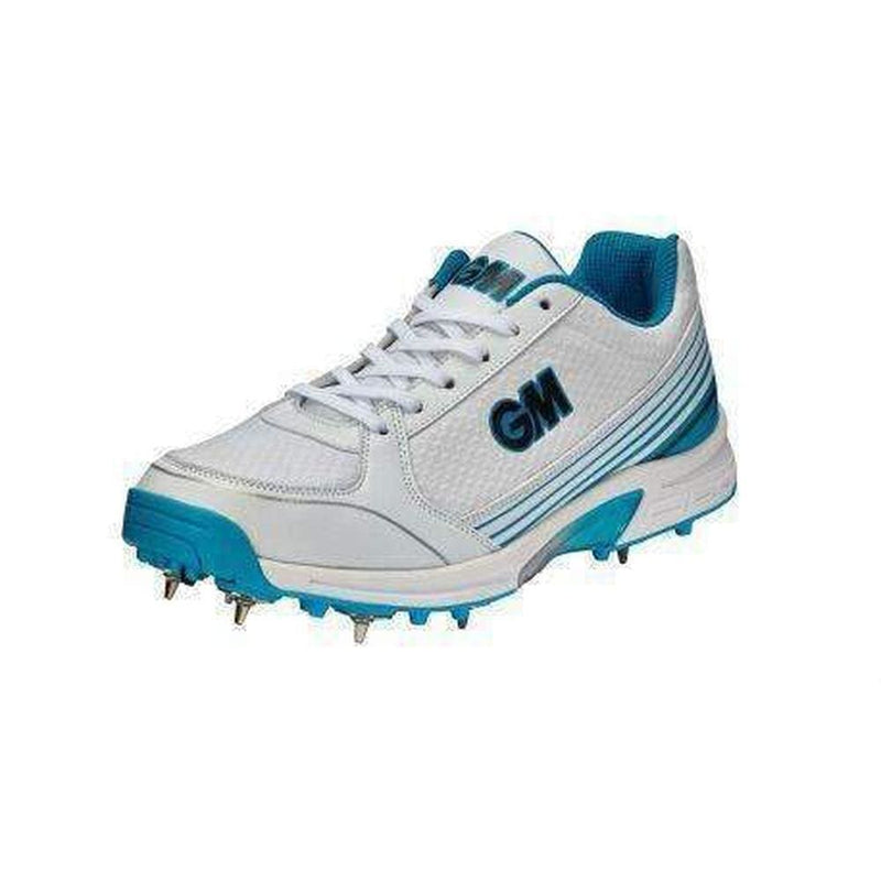 GM Maestro Multi Function Cricket Shoes Metal & Rubber Spikes - FOOTWEAR - FULL SPIKE SOLE