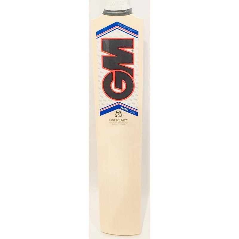 Gm Mana F4.5 Dxm 303 ToeTek Cricket Bat Men Short Handle - BATS - MENS ENGLISH WILLOW