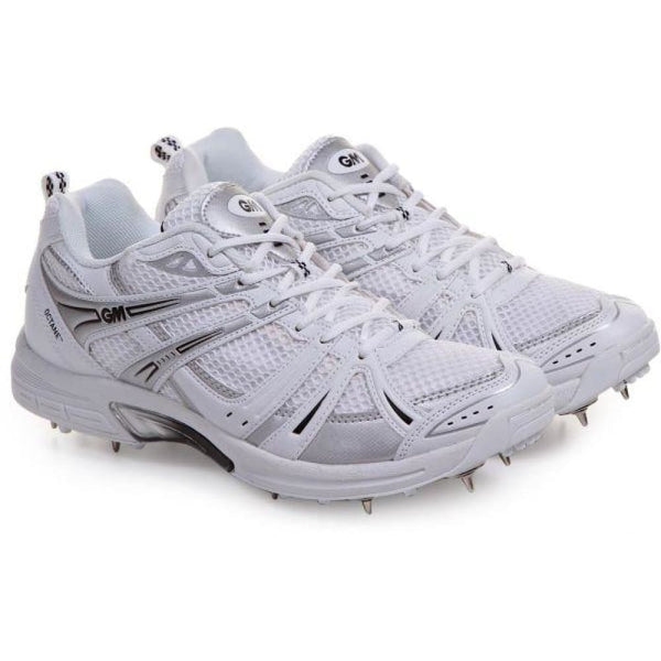 Gm Octane Multi Function Cricket Shoes Metal & Rubber Spikes - FOOTWEAR - FULL SPIKE SOLE
