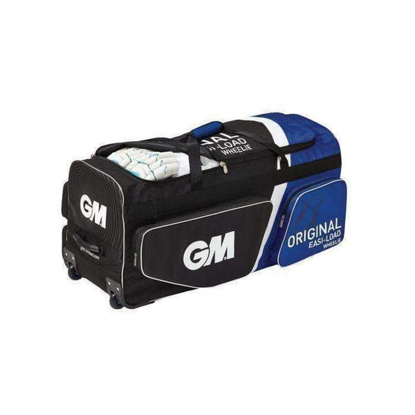 Gm Original Easi-Load Wheelie Black Cricket Bag - BAG - PERSONAL
