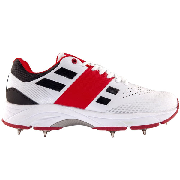 GN Cricket Shoes Velocity 2.0 Flexi Spike Gray Nicolls - FOOTWEAR - FULL SPIKE SOLE