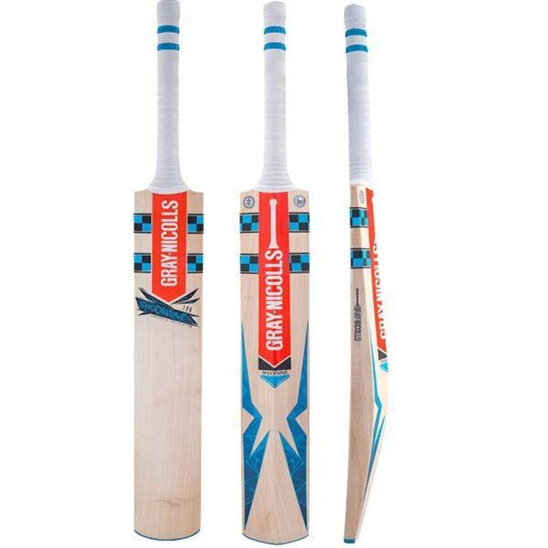 GN Shockwave 100 Cricket Bat English Willow Gray Nicolls - Short Handle - BATS - MENS ENGLISH WILLOW