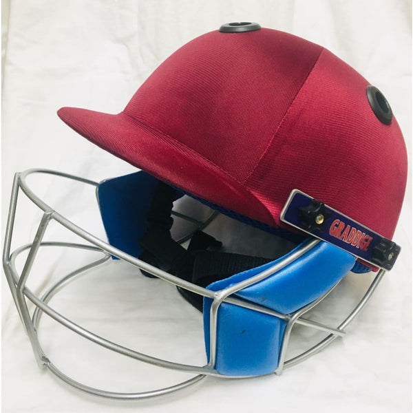 GR County Elite Cricket Helmet Adjustable Various Color - HELMETS & HEADGEAR