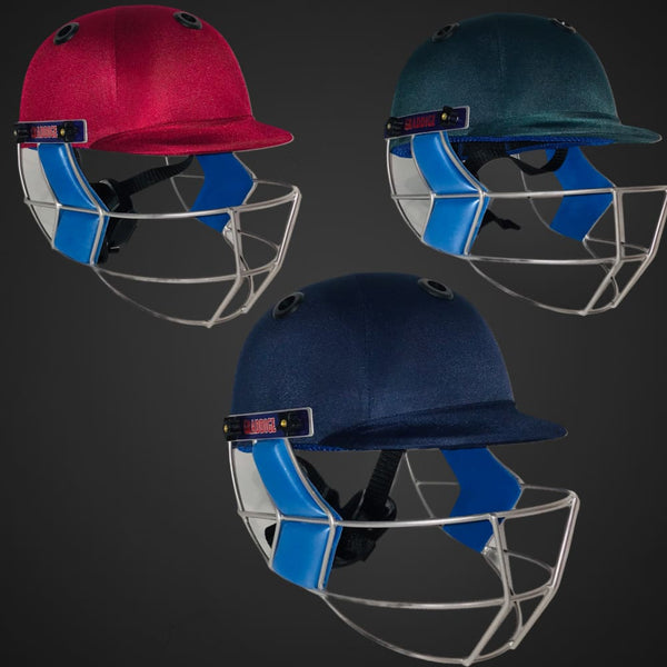GR Cricket Helmet County With New Improved Fixed Grille - HELMETS & HEADGEAR
