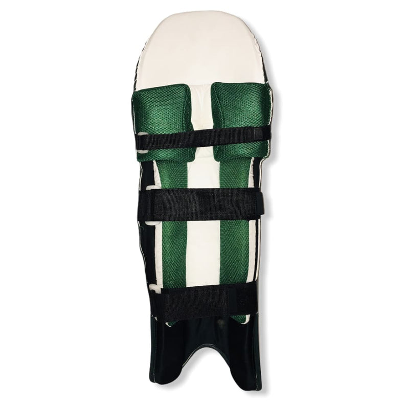 GR Megalite Cricket Color Batting Pads Navy Green - PADS - BATTING