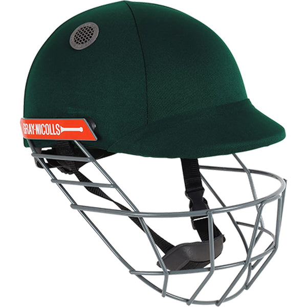 Gray-Nicolls Atomic Bottle Green Cricket Helmet - HELMETS & HEADGEAR