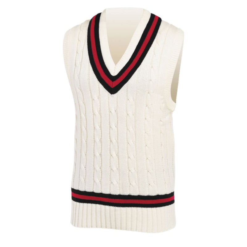 Gray-Nicolls Black Red Black Sweater - CLOTHING - SWEATER