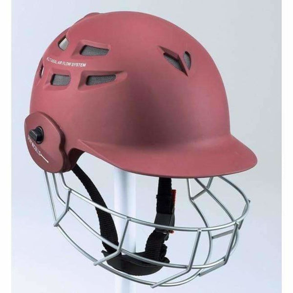 Gray-Nicolls Carbo Lite Maroon Cricket Helmet - HELMETS & HEADGEAR