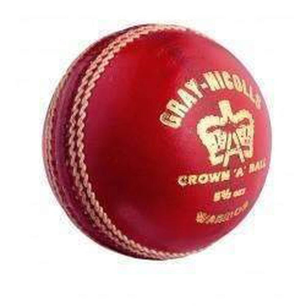 Gray-Nicolls Cricket Ball Special Crown Red 4-P - BALL - 4 PCS LEATHER
