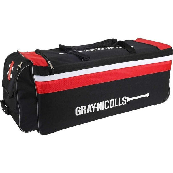 Gray Nicolls F18 900 Black/Red Cricket Bag | 40x15x14 - BAG - PERSONAL