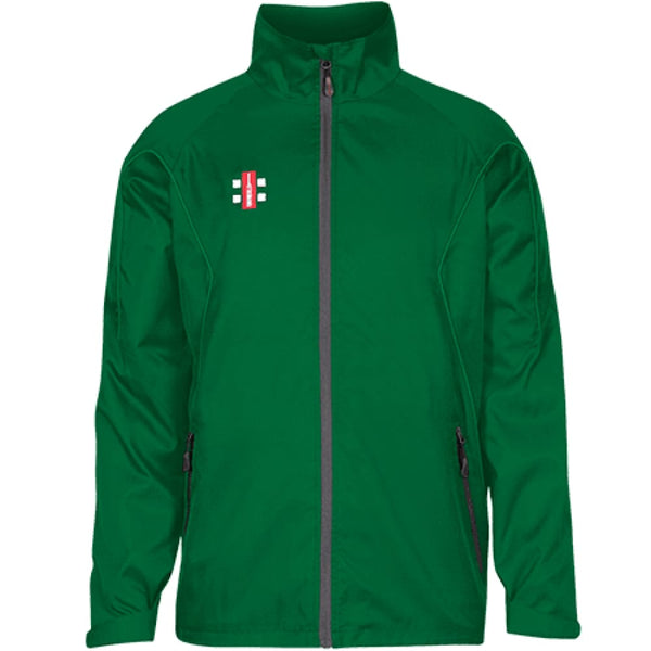 Gray-Nicolls Green Track Shower Jacket - CLOTHING - ACCESSORIES