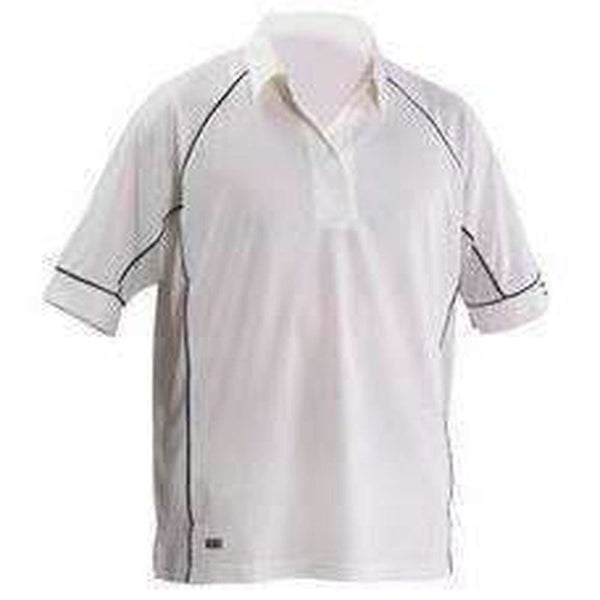 Gray-Nicolls Ice Ivory Cricket Shirt Navy Trim Jersey - CLOTHING - SHIRT