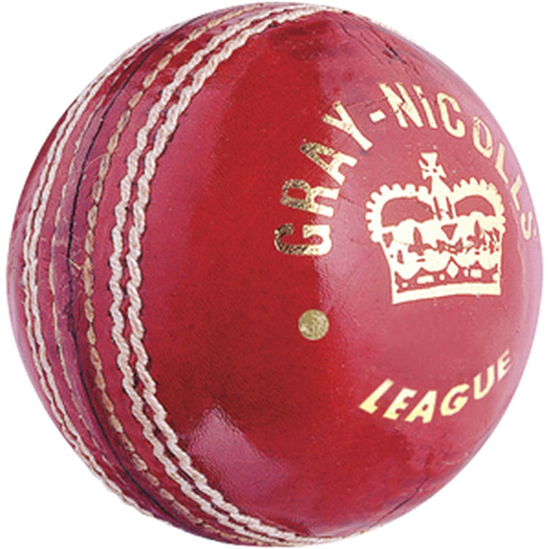 Gray-Nicolls League Red Leather Ball For Women - BALL - 4 PCS LEATHER