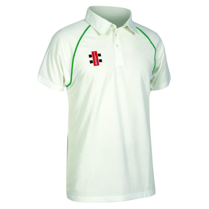 Gray-Nicolls Matrix Cream Cricket Shirt - CLOTHING - SHIRT