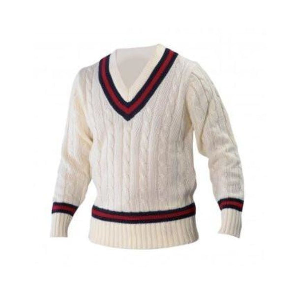 Gray nicolls Navy Red Navy Sweater - CLOTHING - SWEATER