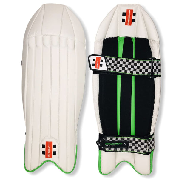 Gray-Nicolls Pad Wicket Keeping Powerbow Genx Players - Mens - PADS - WICKET KEEPING