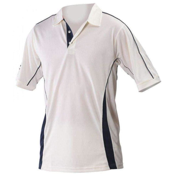 Gray-Nicolls Players Maroon Trim Shirt - CLOTHING - SHIRT