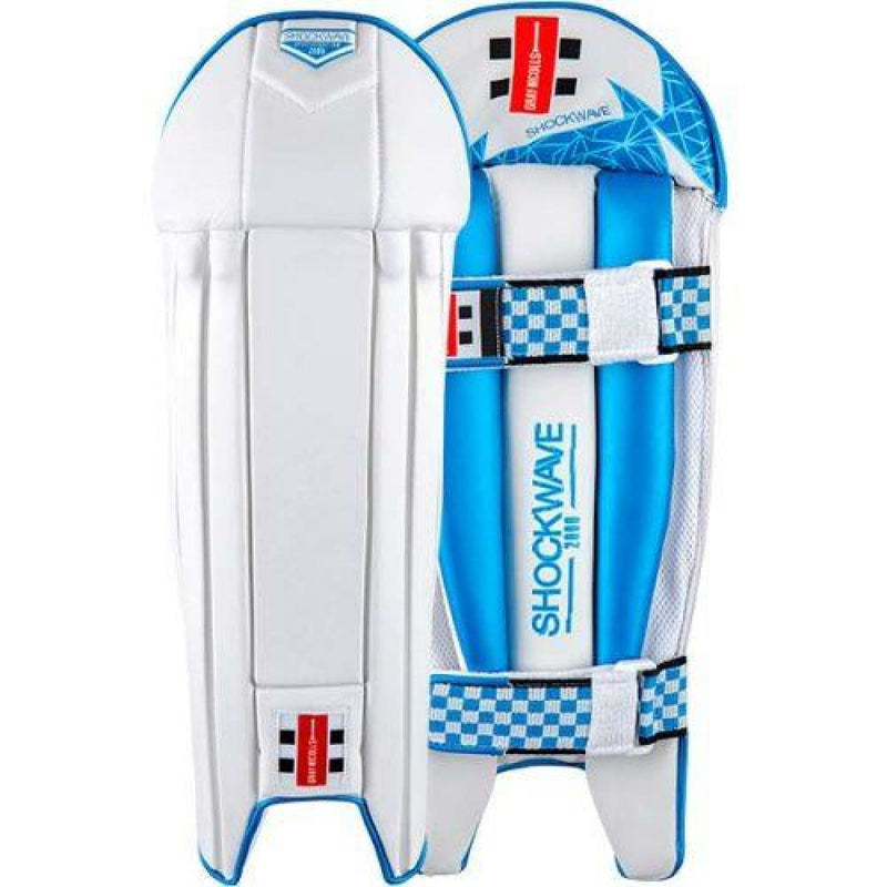 Gray Nicolls Shockwave 2000 Wicket Keeping Pads Legguards - Mens - PADS - WICKET KEEPING