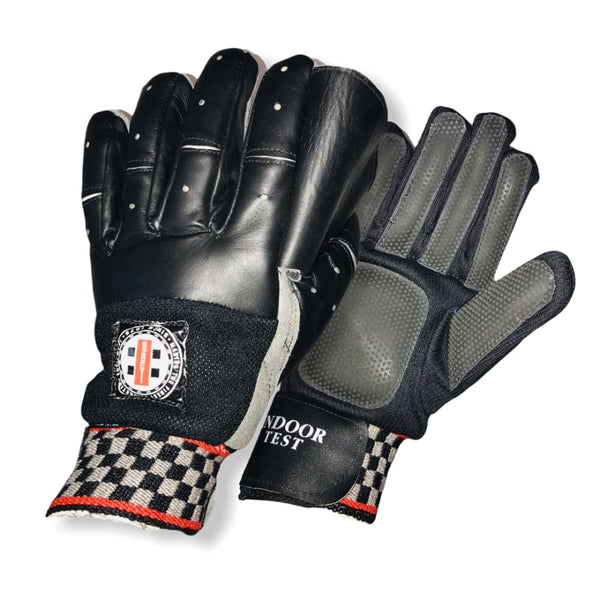 Gray-Nicolls Softball Indoor Test Gloves Wicket Keeping - Men RH - GLOVE - WICKET KEEPING